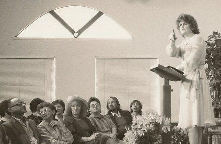 Rev. Carol Ruth Knox in the 1980s